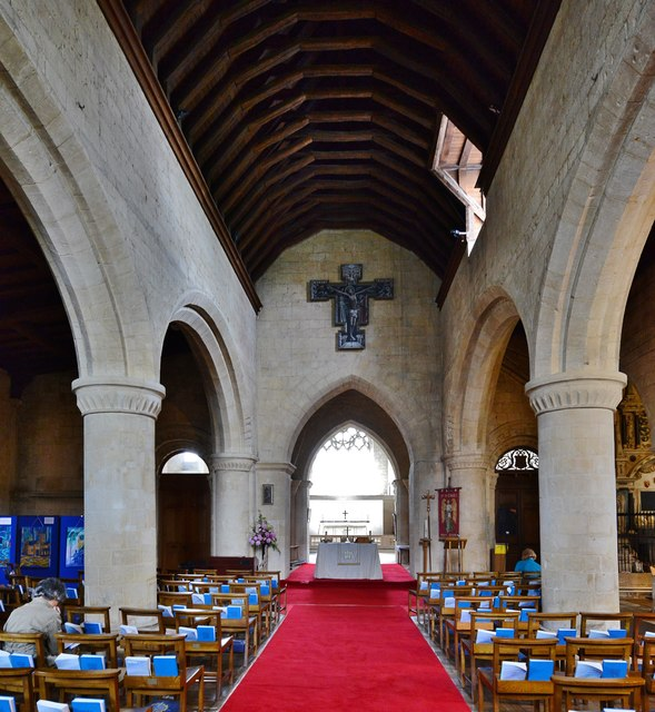 Bishops Cleeve, St. Michael and All © Michael Garlick cc-by-sa