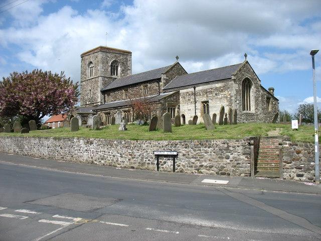 St Bartholomew's church, Aldbrough © David Purchase cc-by-sa/2.0