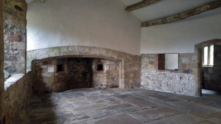 Fireplace in the Medieval Kitchen at © Phil Champion cc by sa/2 0 :: Geograph Britain and Ireland
