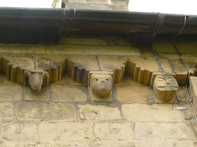 St John's church, Adel - corbels © Stephen Craven cc-by-sa/2.0