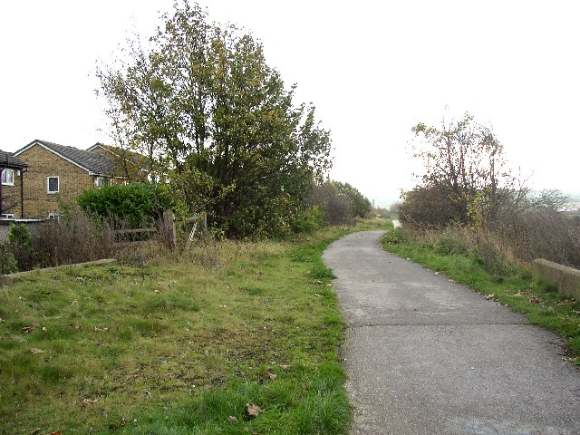 Two teenagers were robbed of their mobile phones while walking on the Spen Valley Greenway yesterday