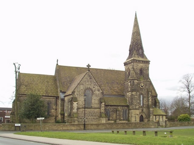 St Jamess Church Seacroft  Rich Tea  Geograph Britain