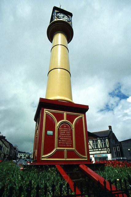 Tredegar Town Clock © Stephen McKay Geograph Britain