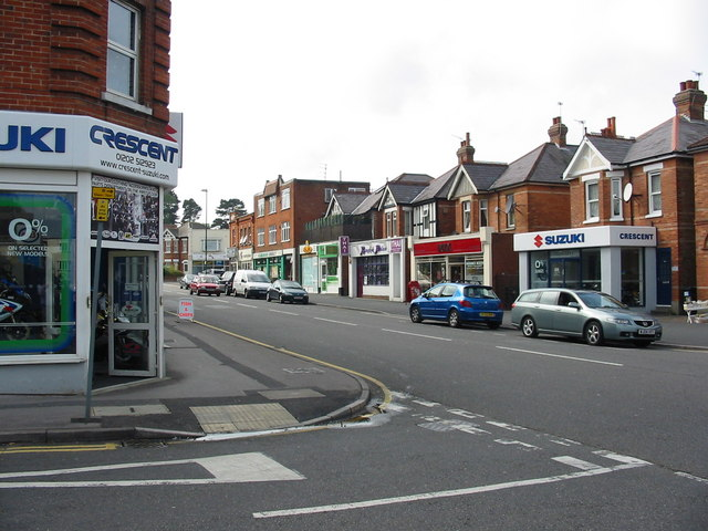 Shops Charminster Road Bournemouth  Clive Perrin