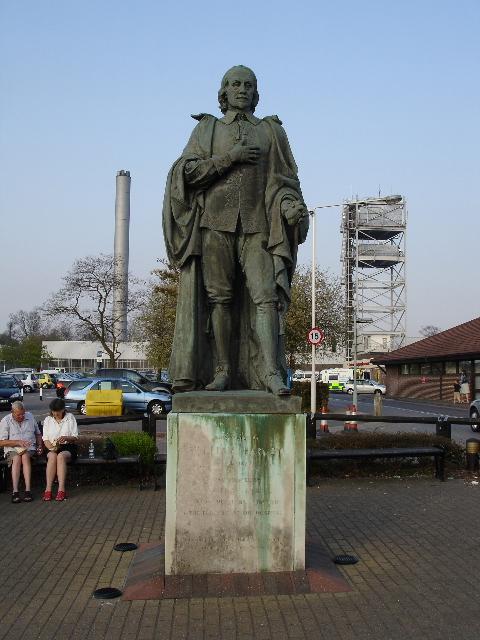 Statue of William Harvey  DGSeamon ccbysa20