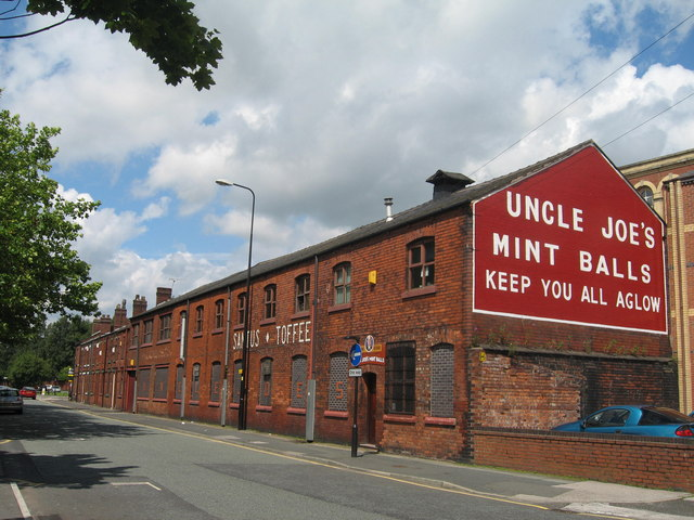 Uncle Joes Mint Balls Factory  Sue Adair  Geograph