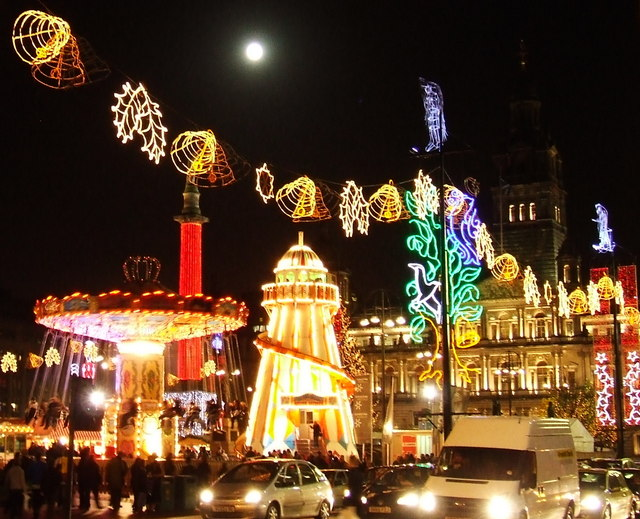 Christmas Funfair Thomas Nugent Geograph Britain And