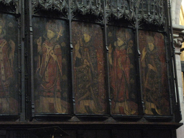 Hexham's saxon bishops