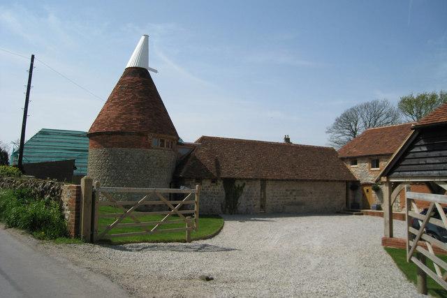Ruffynes Oast Church Lane Aldington  Oast House