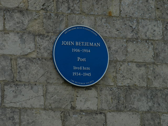 Blue Commemorative Plaque