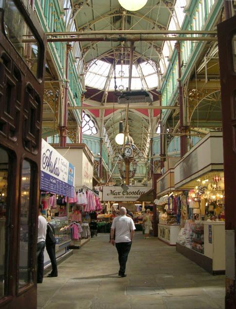 Halifax market Yorkshire