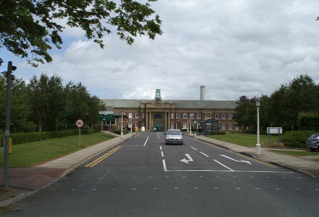 Main Entrance. Edge Hill University © David Long :: Geograph Britain and Ireland