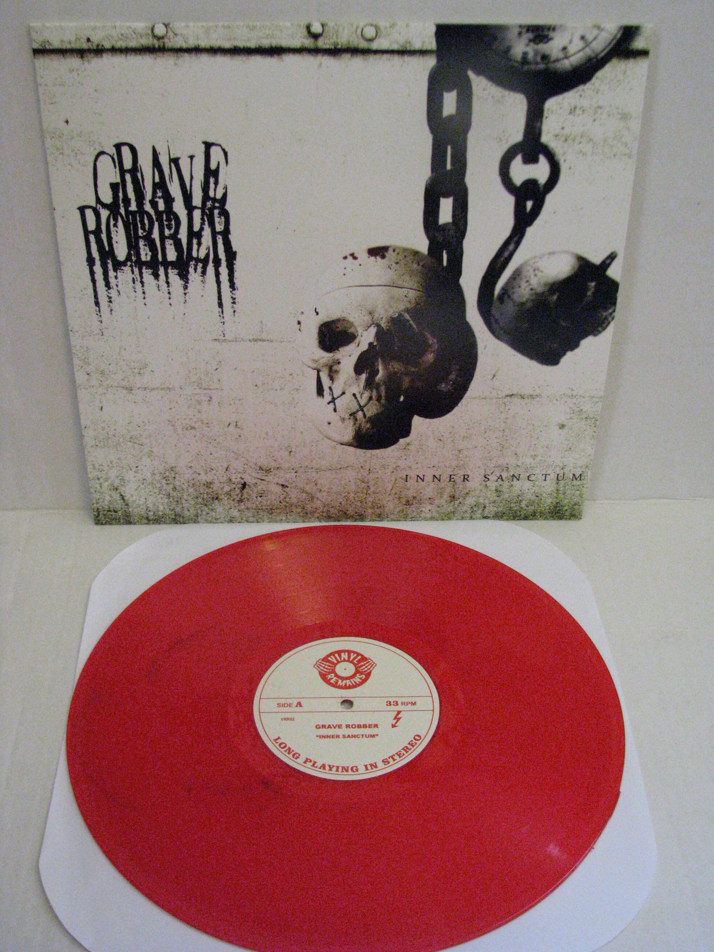 Vinyl Remains  Grave Robber  Inner Sanctum Lp