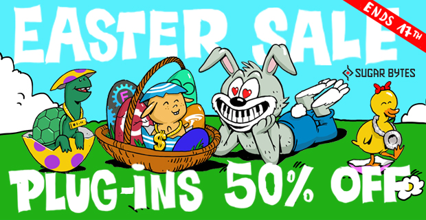 620x320 sugarbytes easter 50 pluginboutique