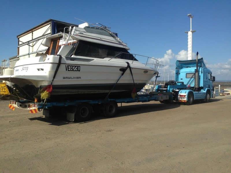 Queensland Boat Transport - Boat & Yacht Transport Services - 11 Maldives Pl - Parrearra