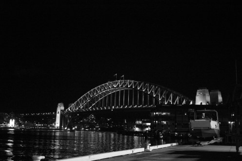 Sydney Harbour Bridge from Barangaroo
