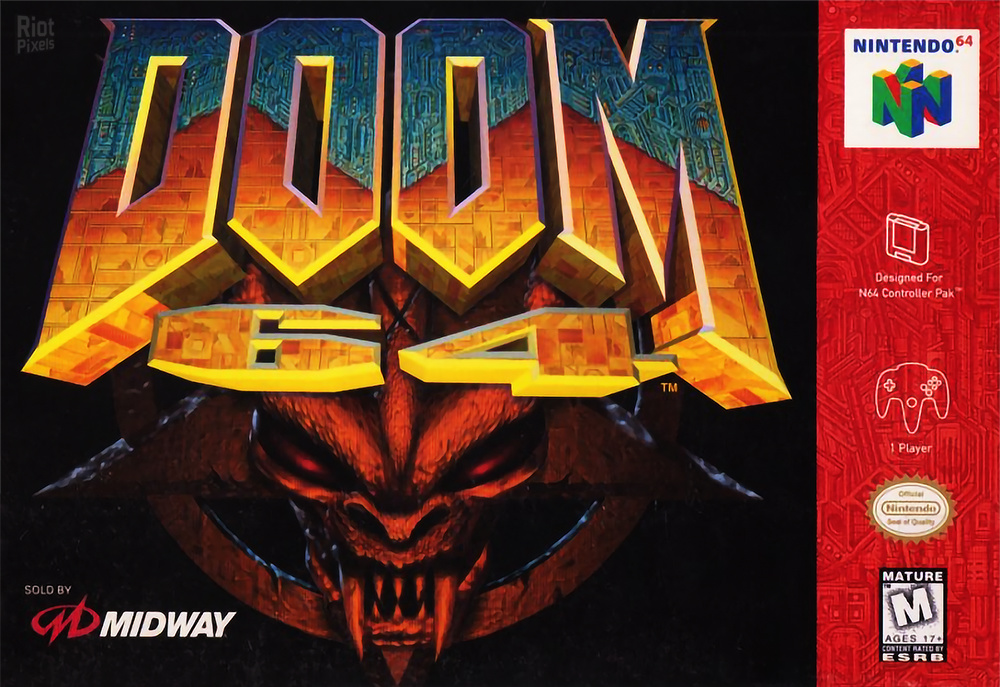 doom 64 game covers