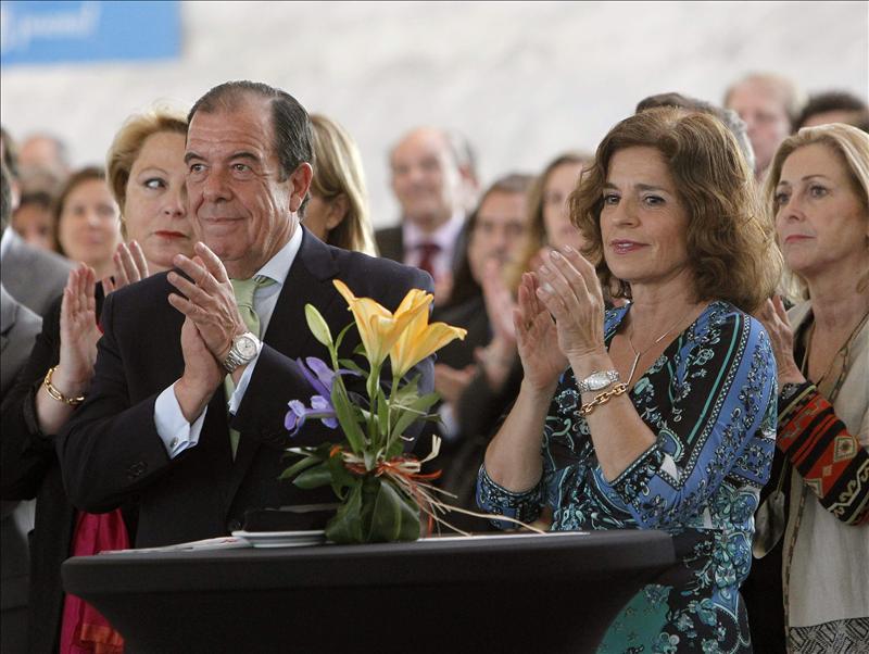 Ana Botella junto a Pablo del Amo