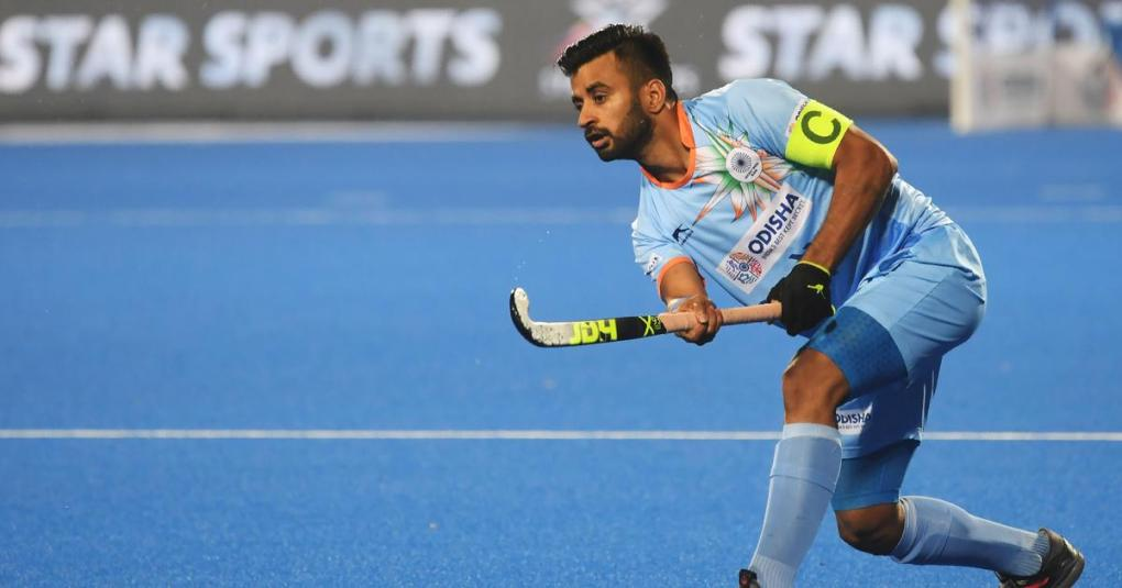 Covid-19: Captain Manpreet Singh among India hockey players to test  positive, camp set to go