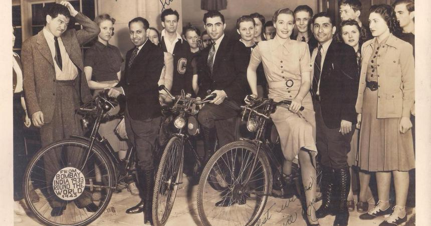 'The Bicycle Diaries': The tale of Indian cyclists who circumnavigated the world of a century ago