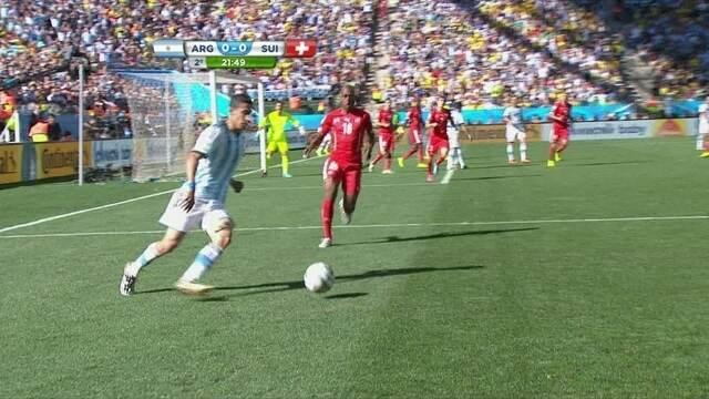 Resultado de imagem para Argentina 1 x 0 Suíça