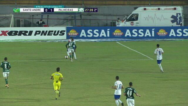 9482340 Palmeiras venceu o Santo André na noite deste domingo