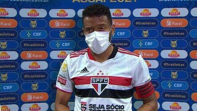 """Reinaldo sobre derrota para o Atlético-MG: """"A gente sabe que não podíamos começar o Brasileiro assim"""""""