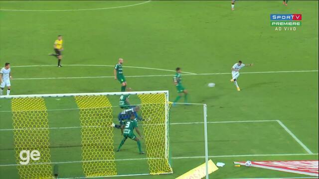 Aos 37 min do 1º tempo - gol de dentro da área de Adson do Corinthians contra o Cuiabá