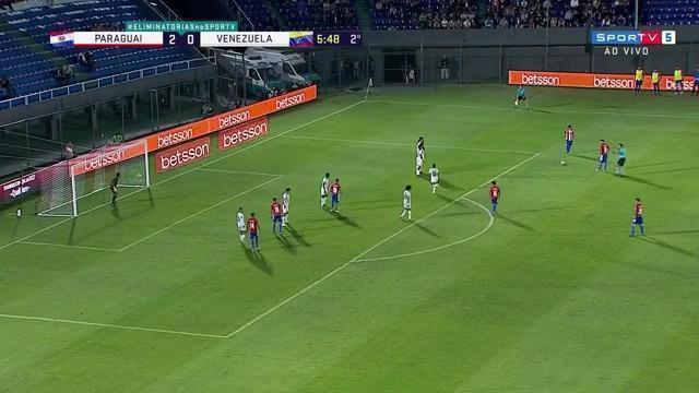 Melhores momentos: Paraguai 2 x 1 Venezuela pela 10ª rodada das Eliminatórias da Copa