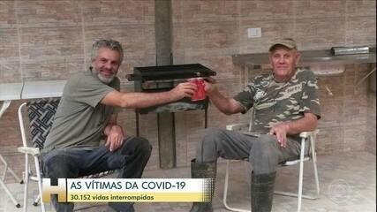 Covid-19 interrompe mais de 30 mil histórias
