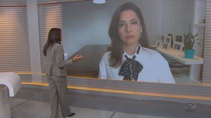 Carolina Bahia comenta a falta de medicamentos anestésicos nos hospitais do RS