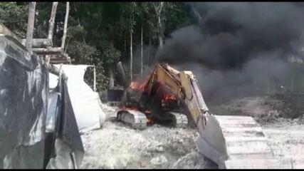 Ministério da Defesa suspende ações de combate aos garimpos ilegais em terra indígena