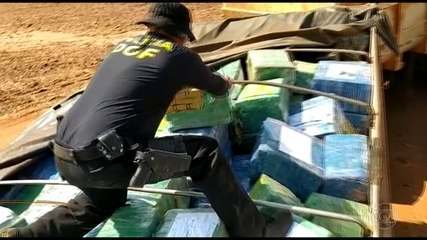 Polícia do Mato Grosso do Sul faz a maior apreensão de maconha da história do país