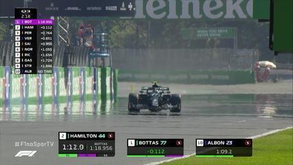 Veja o final do Q3 do treino do GP da Itália