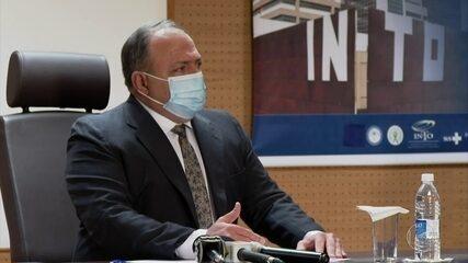 Aras pede ao STF abertura de inquérito para apurar conduta de Pazuello em crise no AM