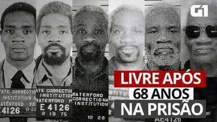 VÍDEO: Homem é libertado após 68 anos na prisão nos EUA