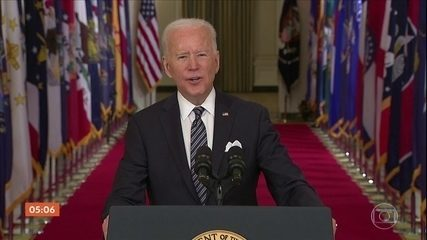Biden announces intention to release Covid vaccine to all US adults