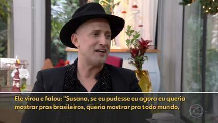 Paulo Gustavo's husband in an interview with Fantástico: 'I believe that the rebirth is getting closer and closer'