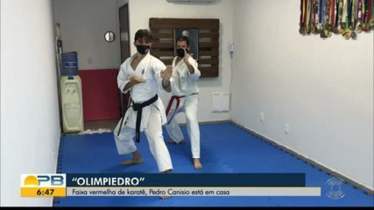 """Olimpiedro: faixa vermelha no caratê, Pedro Canisio """"testa"""" mais um esporte olímpico"""