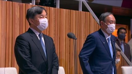 Imperador japonês declara as Olimpíadas de Tóquio 2020 oficialmente abertas