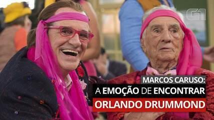Em entrevista recente ao G1, Marcos Caruso relembrou emoção com surpresa de Orlando