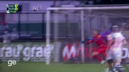Vasco 2 x 0 Ponte Preta's goals for the 21st round of Serie B