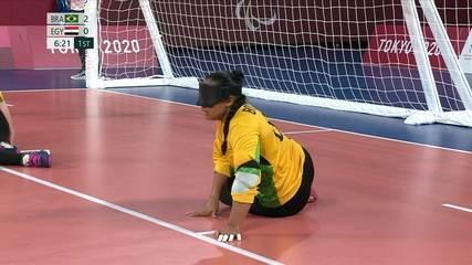 Highlights: Brazil 11-1 Egypt in Women's Goalball at Tokyo Paralympics