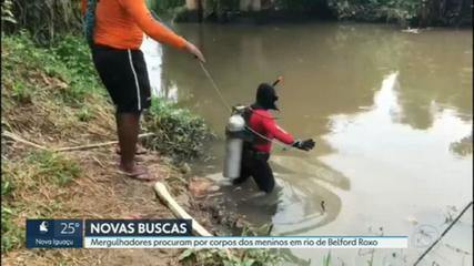 Police make new searches for bodies of boys who disappear in Belford Roxo