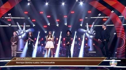 The audience saves a voice and Teló chooses a participant to follow in 'The Voice Kids'