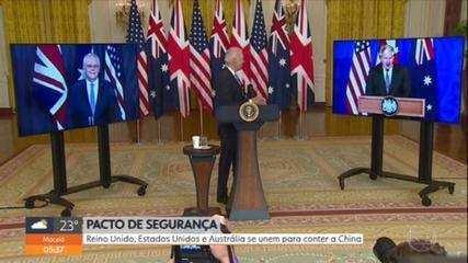 UK, US and Australia unite to contain China