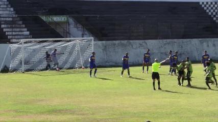 Goal by Caruaru City 0 x 1 Barreiros