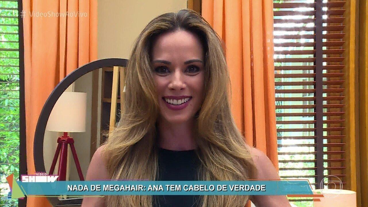 Ana Furtado conta os segredos para ter um cabelo saudvel