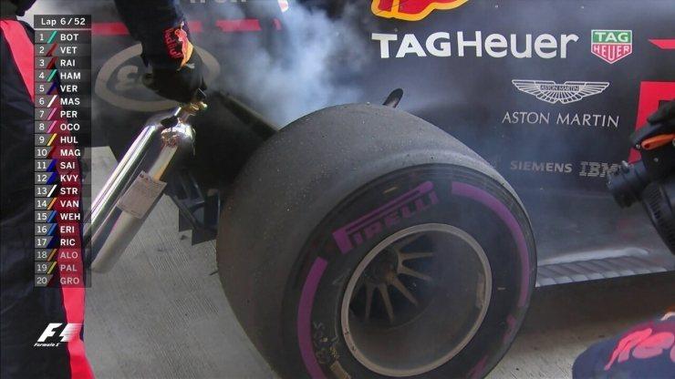 Carro de Ricciardo é recolhido e piloto abandona o GP da Rússia
