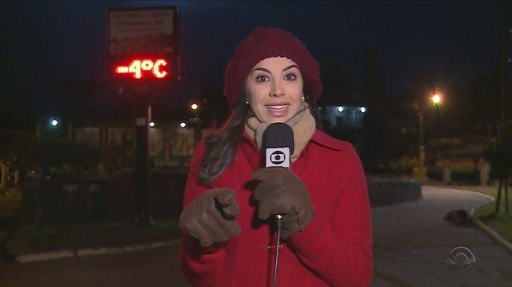 SC registra temperaturas negativas nesta terça-feira (18)